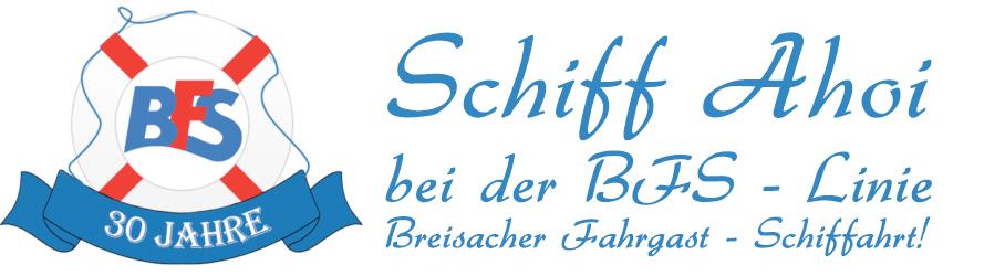 Schiff Ahoi bei der Breisacher Fahrgast-Schiffahrt!